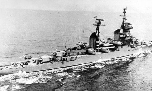 Крейсер «Кутузов» в походе